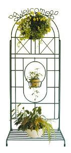 フラワースタンド ガーデンシェルフ 花台 ガゼボ トレリスツリーTRT1 ガーデニンググッズ プランタースタンド ラティス 園芸用品