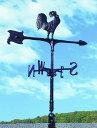 風見鶏WV-E30型 英国風スタイルに。屋根の上で家を守り続ける風見鶏
