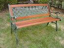 ベンチガーデンベンチ木製クロスベンチガーデン家具ベンチレトロ風ガーデンファニチャー