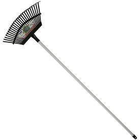 熊手 くまで クマデ パイプ柄 平爪 レーキ25本爪 Garden Helper L-6P 農具 ガーデニング 園芸用品 芝生のお掃除に最適!