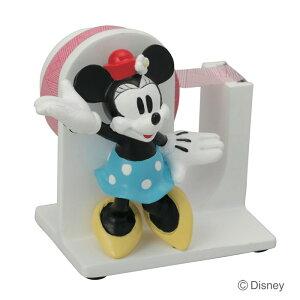 文具 かわいい テープディスペンサー ディズニー ミニーマウス テープカッター テープ台 セロハンテープ 文房具 インテリア 雑貨