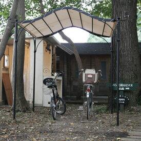 自転車小屋 自作
