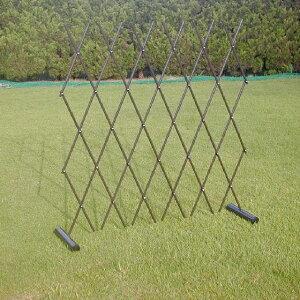 フェンス柵ワンタッチ伸縮フェンスエクステリア