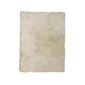 敷石 ステップストーン 飛石 踏み石 屋外床 コンクリート2次製品 イギリス フランス ストーンフレア ジロンデ 平板 W600×D450×H40 ライムストーン色 1枚単位 diy