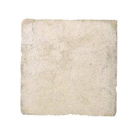 敷石 ステップストーン 飛石 踏み石 屋外床 コンクリート2次製品 イギリス フランス ストーンフレア ジロンデ 平板 W600×D600×H40 ライムストーン色 1枚単位 diy
