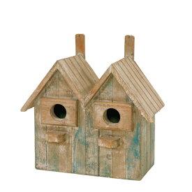 バードハウス 鳥小屋 81160 ガーデニング雑貨 巣箱 バード鳥 野鳥 バードウォッチング 庭 かわいい