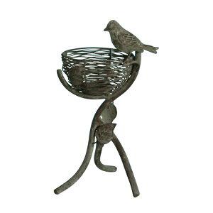 野鳥の餌台 鳥小屋 ガーデニング雑貨 バードフィーダー 86430 鳥のえさ入れ 害虫駆除にも