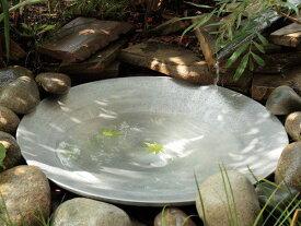 水鉢 水鉢 アルミ鋳物大鉢 600×120 手作り ガーデングッズ 水遣り 水やり 水生植物の育成に