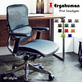 エルゴヒューマン プロ ロータイプ EHP-LAM Ergohumn Pro パーソナルチェア デスクチェア 座り心地 福井県 家具