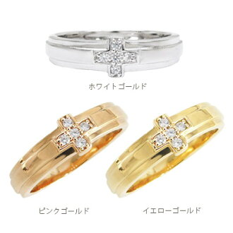 k18 pairing wedding rings diamond 18 k gold cross cross wedding ring set popular unisex ladies j jewelry - Cross Wedding Rings