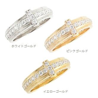 k18 pairing wedding rings diamond 18 k gold cross cross wedding ring set popular unisex ladies j jewelry - Cross Wedding Rings