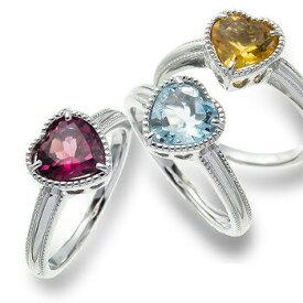 プラチナ900 pt900 ハート リング 誕生石 指輪 レディース ジュエリー アクセサリー プレゼント ギフト