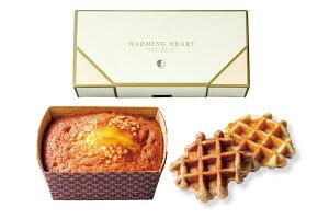 ウォーミングハート チーズケーキ&ワッフルセット