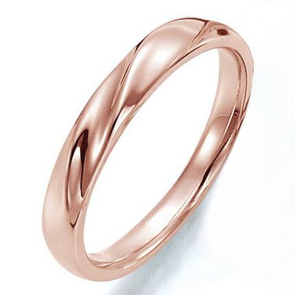 ペアリング(女性用) 結婚指輪 マリッジリング 結婚記念 K18ピンクゴールド ダイヤモンドリング 《Prime M0043L》 【刻印無料 ケース付き 送料無料】 【RCP】 【532P17Sep16】