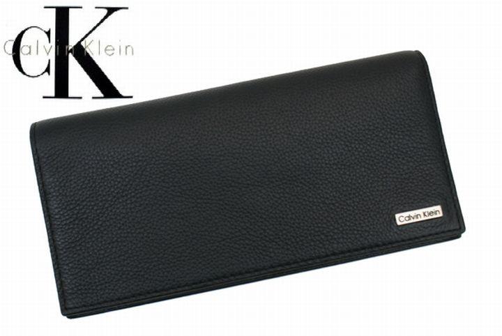 Calvin Klein  ≪カルバンクライン≫長財布 / 79219 ブラック レザー  【★セール】 黒