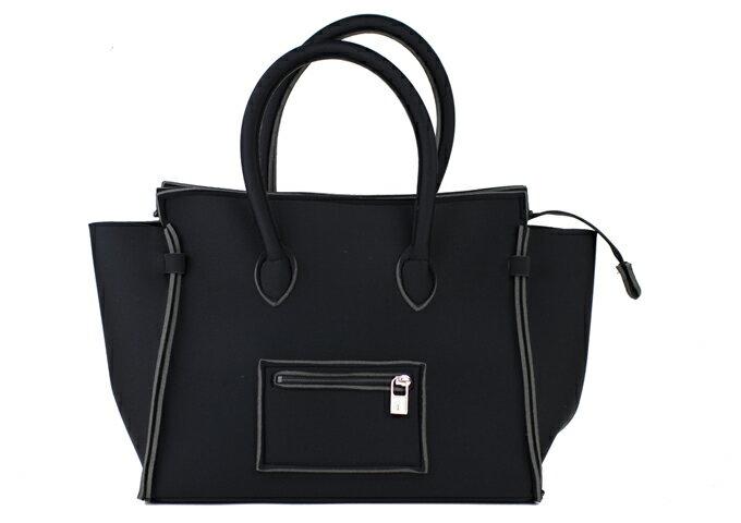 SAVE MY BAG  セーブマイバッグ 2129N PORTOFINO ポルトフィーノ ハンドバッグNERO (ブラック) 軽量 【送料無料】【期間限定セール】【レディース】【人気】【おしゃれ】【ギフト】【通勤】【通学】【洗える】【お買い得】