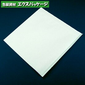 バーガー袋 EP 15-15 150×150mm 白無地 内ラミ加工 エクスパッケージオリジナル商品 100枚入
