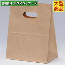 【パックタケヤマ】角底袋 イーグリップ M 茶無地 未晒無地 XZT52002 500入 【ケース販売】