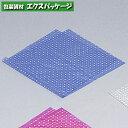 【福助工業】ポリ風呂敷 No.90 水玉ブルー 100入 0370592