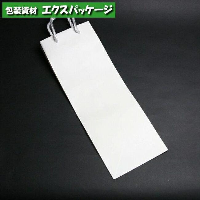 【シモジマ】T型チャームバッグ 一升瓶用 B-2 白無地 25入 #003191000