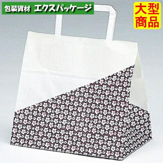【福助工業】手提袋 ラッピーバッグ No.10 花林 400入 0121411 【ケース販売】