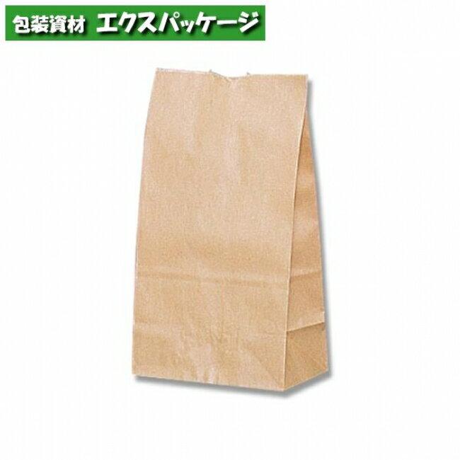 【シモジマ】角底袋 未晒無地 No.4 100入 #004010400