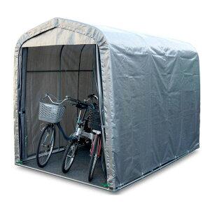 パイプ倉庫 間口1.9mX奥行2.75mX高さ2.1m パイプベース式 大型バイク・タイヤ・除雪機・農機具収納 資材置場 国産 法人も個人も送料無料