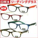 EDWIN エドウィン メガネ リーディンググラス 老眼鏡 EDR-32【コンビニ受取対応商品】人気モデル再入荷