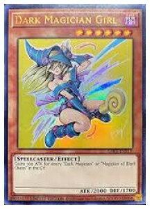 英語版(北米版) 茶 Dark Magician Girl(U)(1st)(ブラック・マジシャンガール)LART