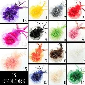 コサージュ 入学式 コサージュ フォーマル 2way ヘッドドレス 卒業式 花 コサージュ結婚式 髪飾り fh18007