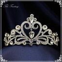 ティアラ 結婚式 ウエディング 披露宴 ブライダル tiara 花嫁 髪飾り ft8015sr