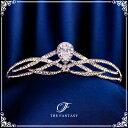 ティアラ 結婚式 ウエディング 披露宴 ブライダル tiara 花嫁 髪飾り ft9030sr