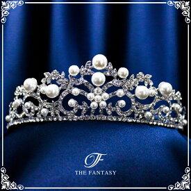 ティアラ 結婚式 ウエディング 披露宴 ブライダル tiara 花嫁 髪飾り fty016plsr