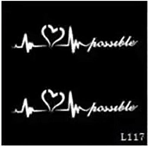 (ファンタジー) TheFantasy ヘナタトゥー グリッタータトゥー 用の ステンシルシート l117【5枚セット】