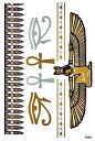 (ファンタジー) TheFantasy フラッシュタトゥー フラッシュタトゥーシール クレオパトラ エジプト 凧 gt001 【中型…