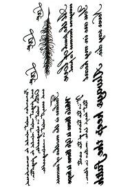 (ファンタジー) TheFantasy タトゥーシール タトゥーシール 英文字 hb067 【レギュラーサイズ】
