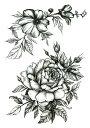 (ファンタジー) TheFantasy タトゥーシール タトゥーシール 薔薇 th173【中型・A5】