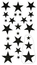 (ファンタジー) TheFantasy タトゥーシール タトゥーシール 文字 記号 星 スター hm427 【レギュラー】