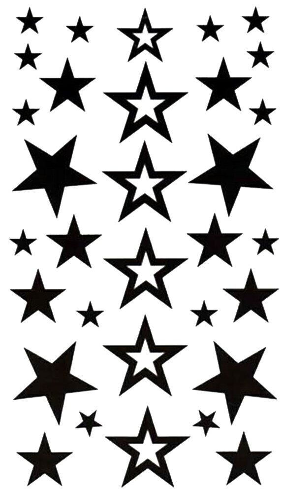 (ファンタジー) TheFantasy タトゥーシール タトゥーシール 文字 記号 星 スター hm434 【レギュラー】