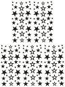 (ファンタジー) TheFantasy タトゥーシール タトゥーシール 星 スター ht1094【小型・5枚セット】