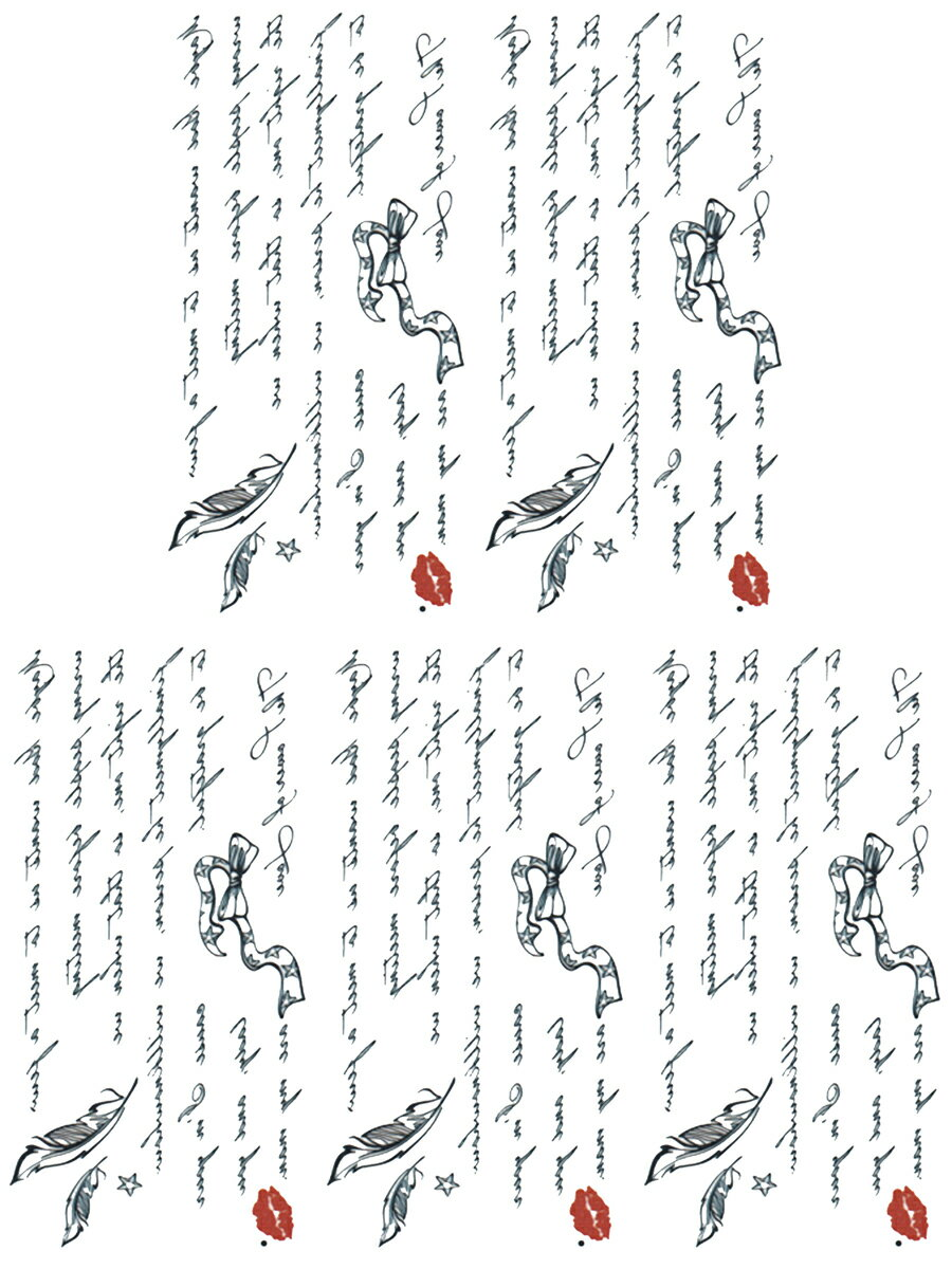 (ファンタジー) TheFantasy タトゥーシール タトゥーシール 文字 ht1121 【小型】