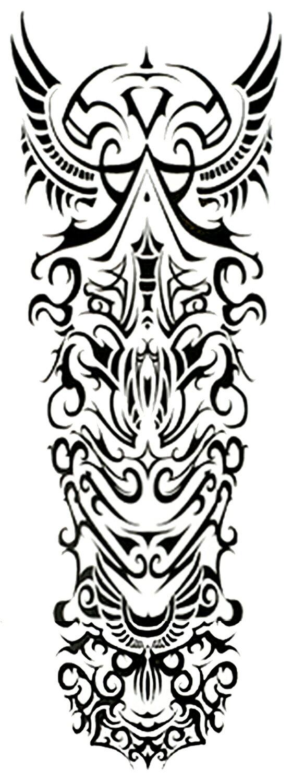(ファンタジー) TheFantasy タトゥーシール タトゥーシール 肩から手首 トライバル qb3032【特長】
