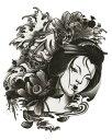 [KING HORSE (キングホース)] タトゥーシール 和服美女 [レギュラーサイズ] rt13