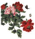 (ファンタジー) TheFantasy タトゥーシール タトゥーシール 花と蝶 wqa12 【大型・A4】