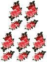 (ファンタジー) TheFantasy 【5枚セット】 タトゥーシール 薔薇 ymx297 【レギュラー】