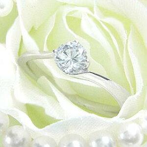 ダイヤモンド婚約指輪 サイズ直し一回無料 0.5ct F VS2 EXCELLENT H&C 3EX カーヴライン4本爪 プラチナ Pt900 婚約指輪(エンゲージリング)