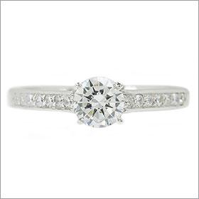 (0.25ct)(Gカラー)(VS1)(EXCELLENT)(婚約指輪、エンゲージリング、ダイヤモンド、リング、ネックレス)
