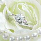 (0.4ct)(Fカラー)(VVS1)(EXCELLENT)(H&C)(3EX)(婚約指輪、エンゲージリング、ダイヤモンド、リング、ネックレス)