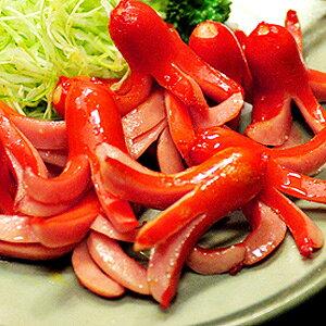 ウインナー タコちゃん赤ウインナー 【赤ウィンナー500g】冷凍食品 お弁当 弁当 食品 食材 おかず 惣菜 業務用 家庭用 ご飯のお供