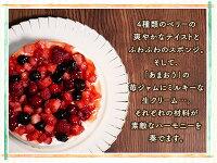 送料無料ミックスベリーケーキホールケーキ【5号・15cm】